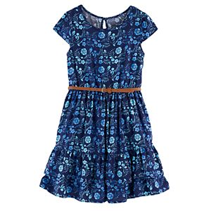 Disney's Elena of Avalor Girls 4-7 Floral Ruffle Dress by Jumping Beans®