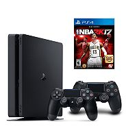 PlayStation 4 1TB NBA 2K17 Bundle with 2 Controllers