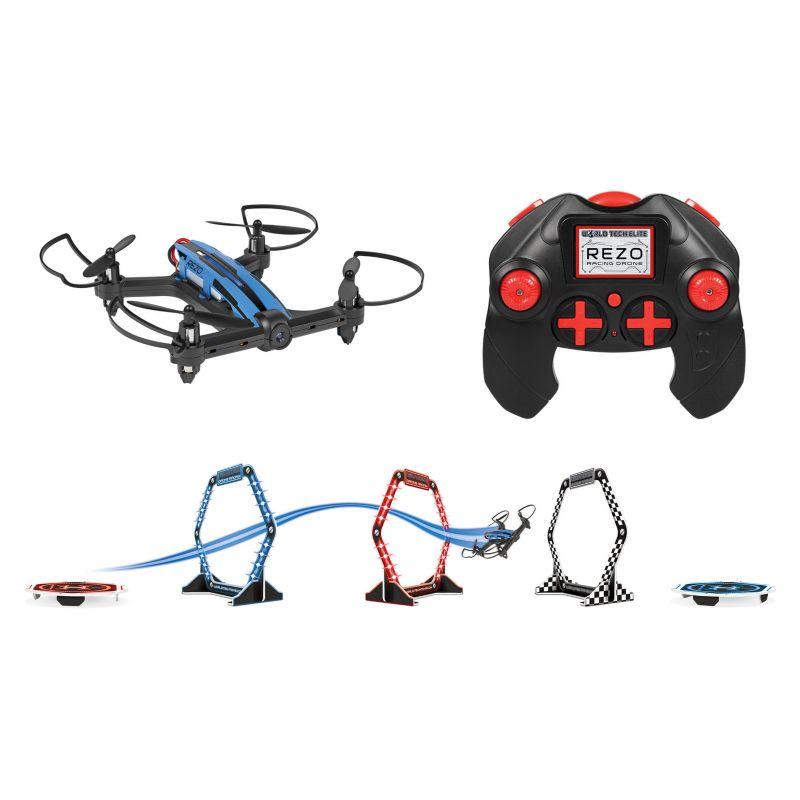 World Tech Toys Elite Rezo 2.4GHz 4.5CH RC Racing Drone, Multicolor thumbnail
