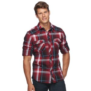 Big & Tall Rock & Republic Plaid Button-Down Shirt