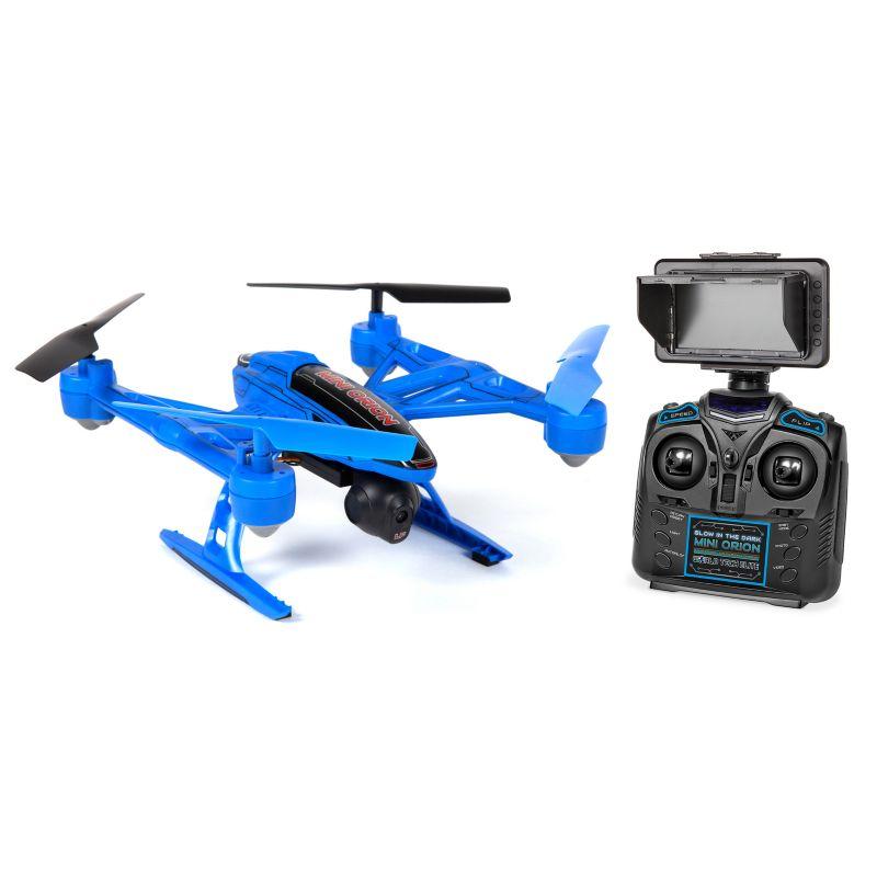 World Tech Toys Mini Elite Orion 2.4GHz 4.5CH Remote Control Camera Drone, Blue thumbnail