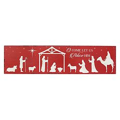 Stratton Home Decor Nativity Scene Wall Decor  by