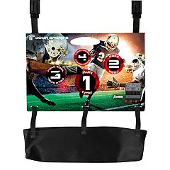 Franklin Sports Door Sports Electronic Football Toss Set by
