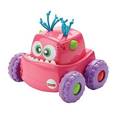 Fisher-Price Press 'n Go Pink Monster Truck by