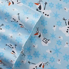 Disney's Frozen Olaf Flannel Sheet Set by Jumping Beans by