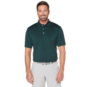 Men's Grand Slam Regular-Fit Motionflow 360 Heathered Performance Golf Polo