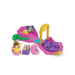 Disney Princess Belle's Fold 'n Go Rose by Little People