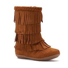Jumping Beans Shaw Toddler Girls' Fringe Boots by
