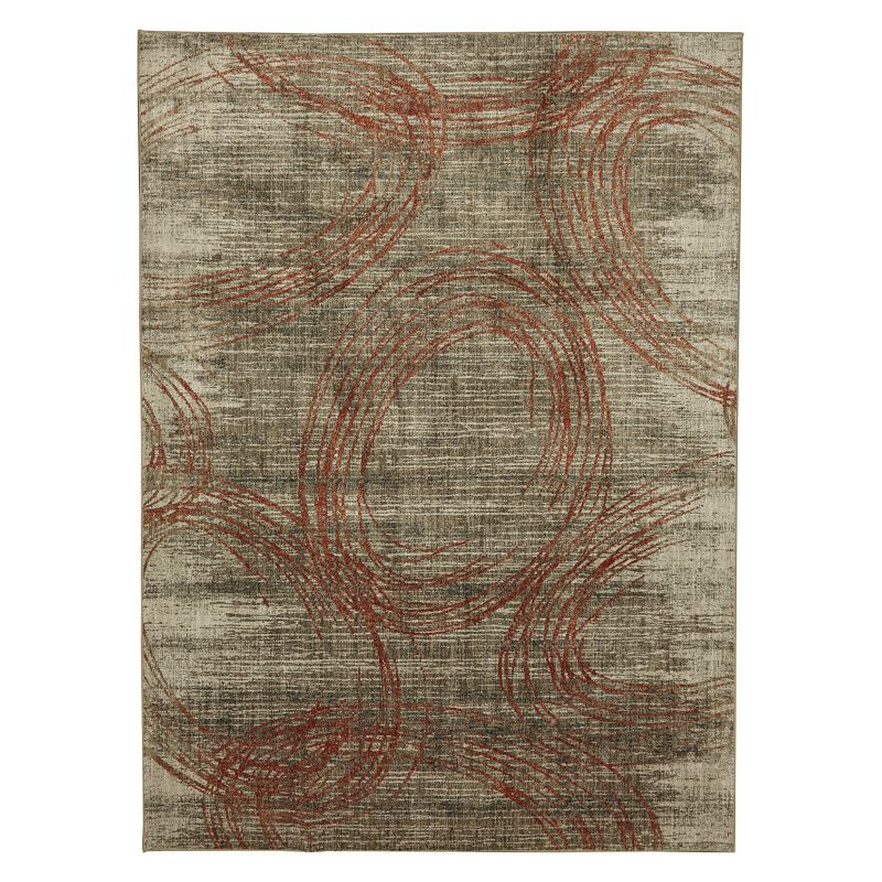 Mohawk Home Metropolitan Amora Ginger by Virginia Langley Rug, Multicolor thumbnail