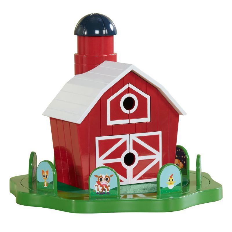 Educational Insights Peekaboo Barn Game, Multicolor thumbnail