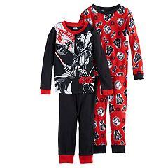 Boys 4-10 Star Wars Darth Vader 4-Piece Pajama Set