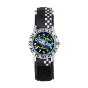 Disney / Pixar Cars 3 Jackson Storm Kids' Time Teacher Watch