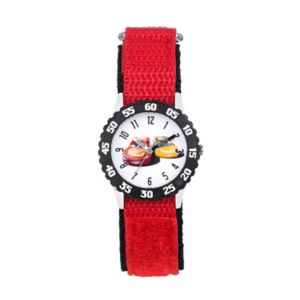 Disney / Pixar Cars 3 Lightning McQueen & Cruz Ramirez Kids' Time Teacher Watch