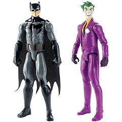 Justice League Batman & The Joker Action Figures by