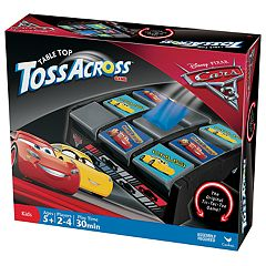 Disney / Pixar Cars 3 Table Top Toss Across by Cardinal Games  by