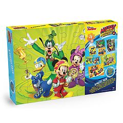 Disney's Mickey Mouse Roadster 8-pk Puzzle by Cardinal Games by