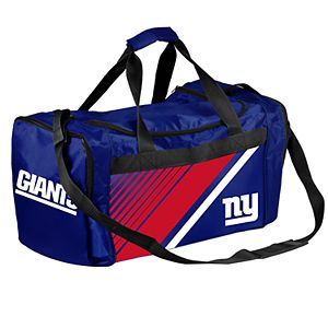 Forever Collectibles New York Giants Striped Duffle Bag