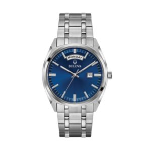 Bulova Men's Classic Stainless Steel Watch - 96C125