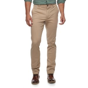 Men's SONOMA Goods for Life™ Slim-Fit Flexwear Stretch Chino Pants