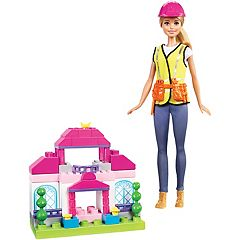 Barbie Builder Doll & Playset by Mattel by