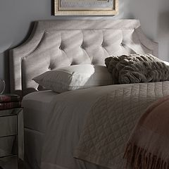 Baxton Studio Mars Upholstered Headboard  by