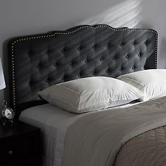 Baxton Studio Lucy Upholstered Headboard  by