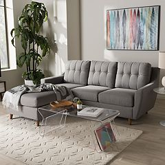 Baxton Studio Mckenzie Sectional Sofa  by