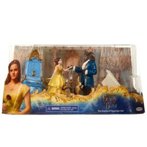 Disney's Beauty and The Beast Live Action Figure Set