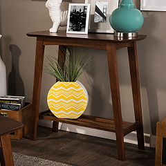 Baxton Studio Sacramento Mid-Century Console Table  by