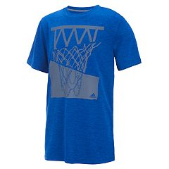Boys 8-20 Adidas Hacked Hoop Basketball Graphic Tee by