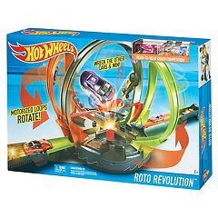 Hot Wheels Roto Revolution Track Set by