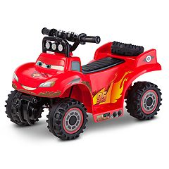 Disney / Pixar Cars 2 Lightning McQueen RS 500 Baja Quad Ride-On by
