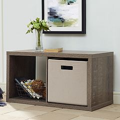 2-Cube Storage Cube Storage Unit  by