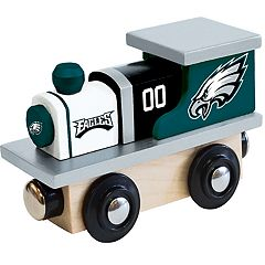 Philadelphia Eagles Baby Wooden Train Toy