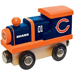 Chicago Bears Baby Wooden Train Toy