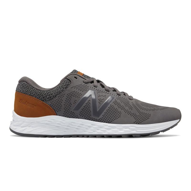New Balance Fresh Foam Arishi Luxe Men's Running Shoes, Size: medium (7), Med Grey thumbnail
