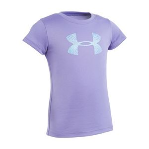 Girls 4-6x Under Armour Grid Logo Graphic Tee