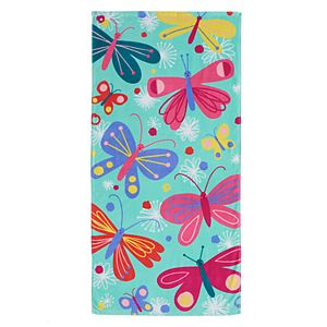 Jumping Beans® Butterflies Beach Towel