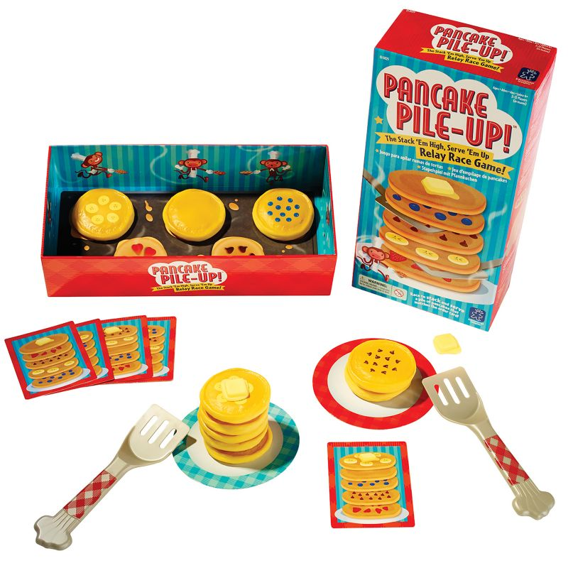 Pancake Pile-Up! Relay and Race Game, Multicolor thumbnail