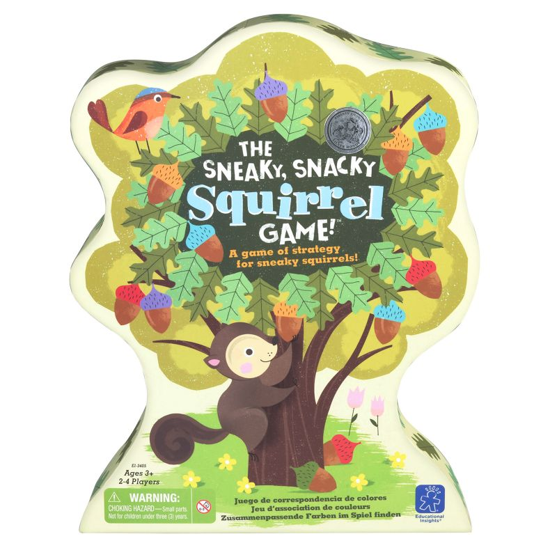 The Sneaky, Snacky Squirrel Game!, Multicolor thumbnail