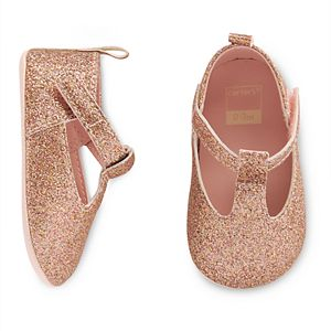 Baby Girl Carter's T-Strap Mary Jane Crib Shoes