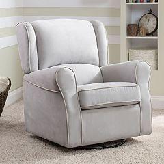Delta Children Morgan Nursery Glider Swivel Rocker Chair by