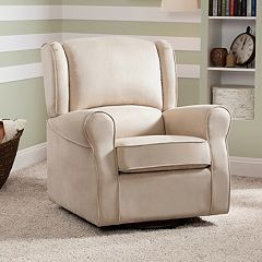 Delta Children Morgan Nursery Glider Swivel Rocker Chair by