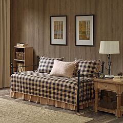 Woolrich Buffalo Check 5-piece Daybed Coverlet Set by