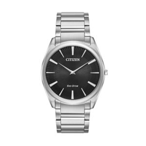Citizen Eco-Drive Men's Stiletto Stainless Steel Watch - AR3070-55E