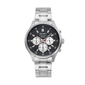 Seiko Men's Stainless Steel Chronograph Watch - SKS593