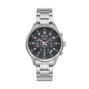 Seiko Men's Stainless Steel Chronograph Watch - SKS587