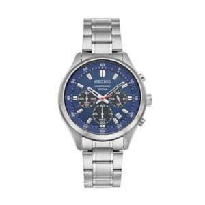 Seiko Men's Stainless Steel Chronograph Watch - SKS585