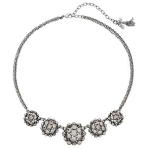 Simply Vera Vera Wang Faceted Cluster Statement Necklace