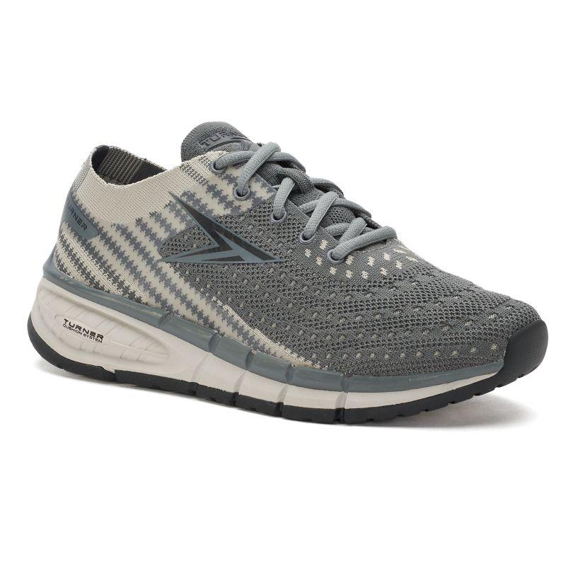 Turner Footwear T Levon Men's Running Shoes, Size: 7, Grey thumbnail